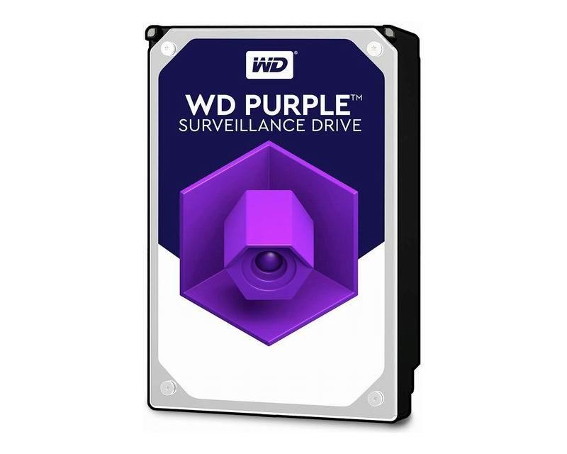 WD Purple 6TB 64MB 3